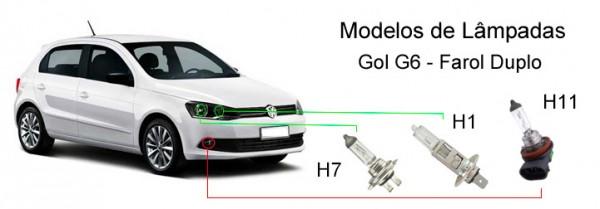 Modelos-de-lâmpadas-do-Gol-G6-farol-duplo