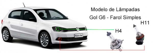 Modelos-de-lâmpadas-do-Gol-G6-farol-simples