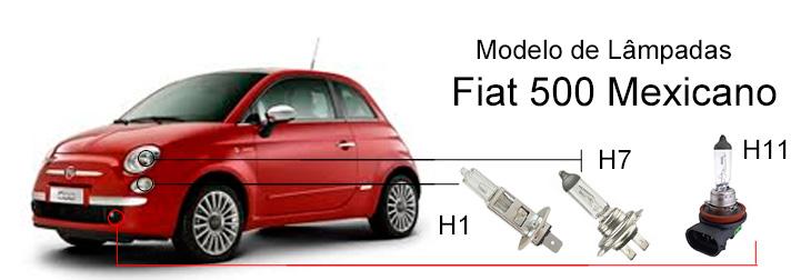 L mpadas fiat 500 confira os modelos blog tuning parts for Que represente 500 mo
