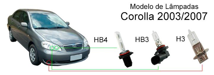 L 226 Mpadas Corolla 2003 2007 Confira Os Modelos Blog